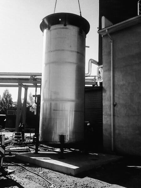 Kaasumoottorilaitos, Vatajankosken Sähkö