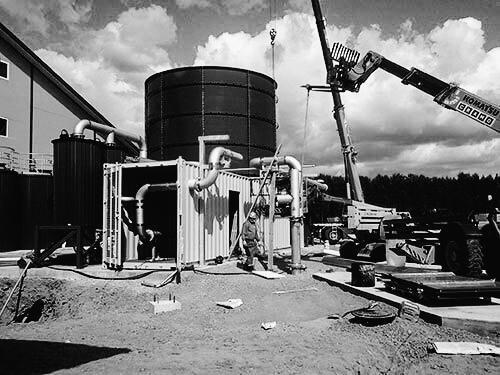 Biogas plant, Oulu