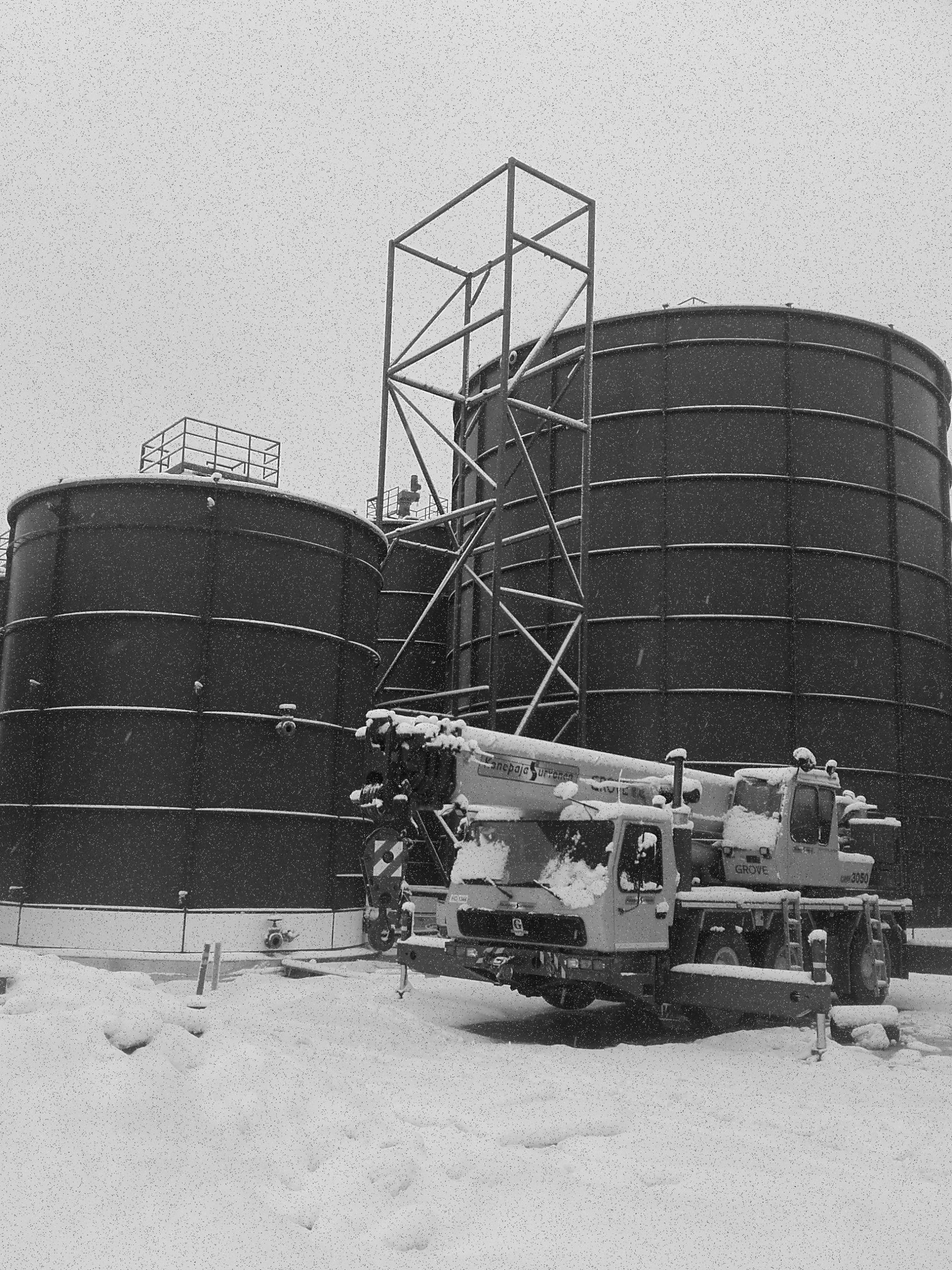 Biogas plant, Riihimäki, Gasum Oy
