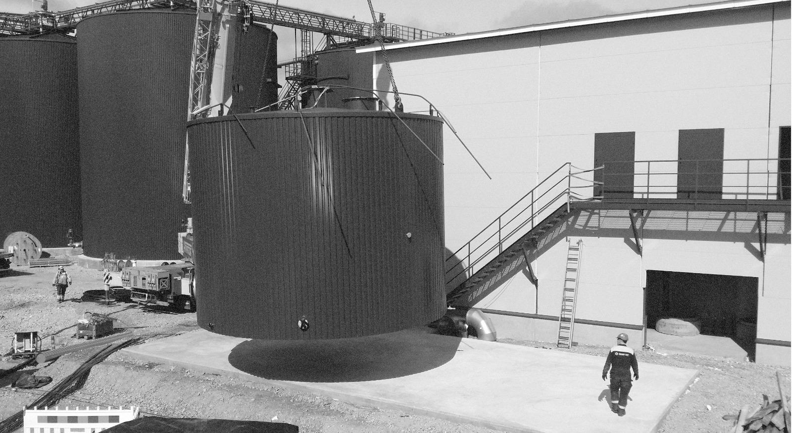 Biokaasulaitoksen laajennus, Gasum Oy, Riihimäki